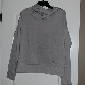 Cowl neck hoodie - Lucy brand